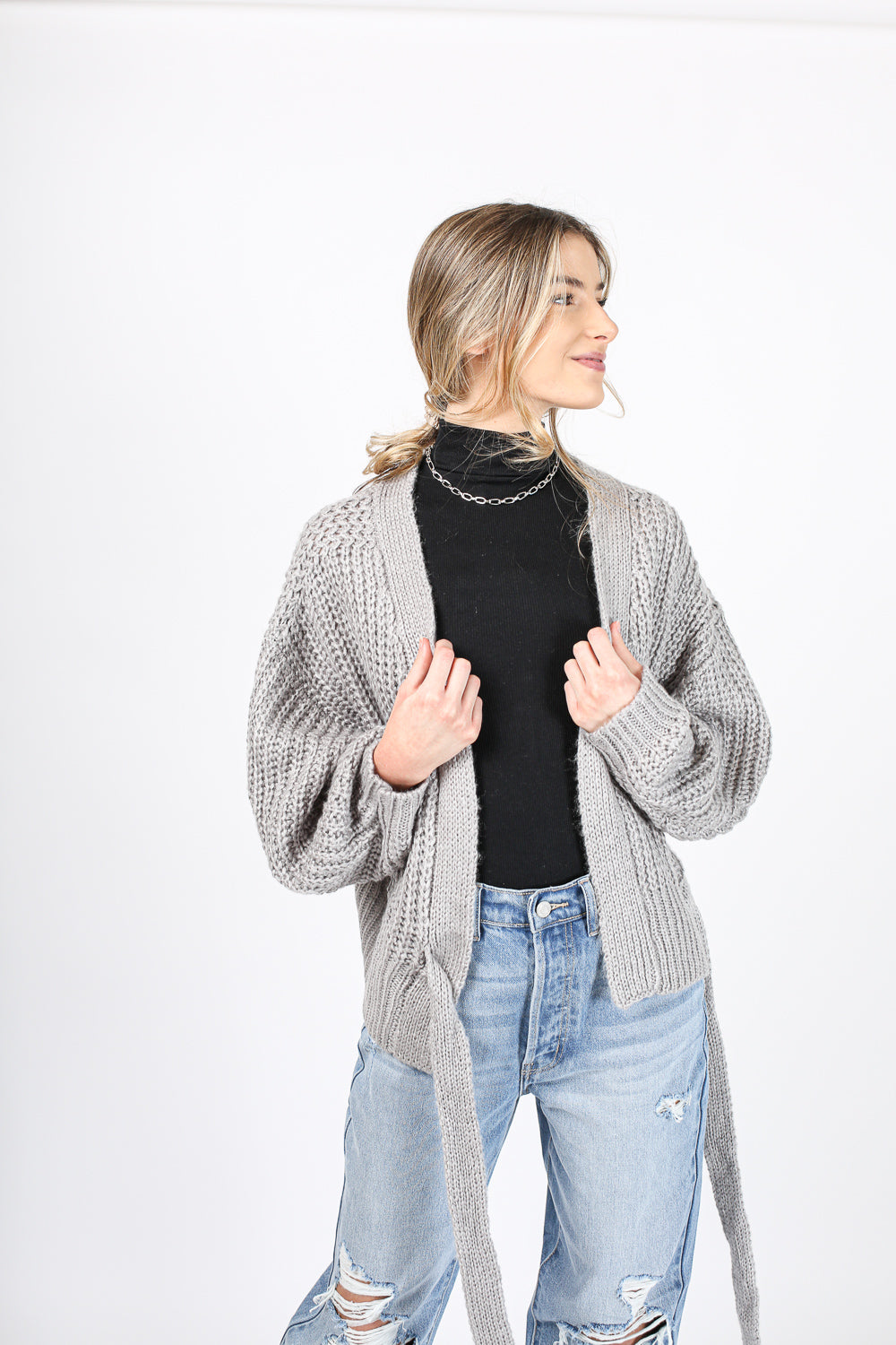 This Way Wrap Sweater
