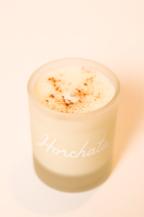 Horchata Shot Glass Candle