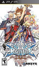 BlazBlue: Continuum Shift II - PSP