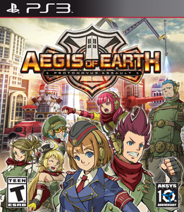 Aegis of Earth: Protonovus Assault - (PS3)
