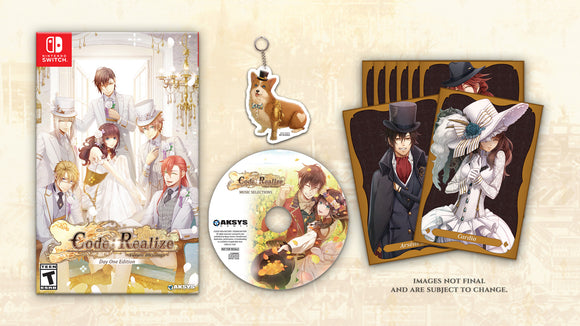 PRE-ORDER - Code:Realize~Future Blessings ~ Day One Edition (Nintendo Switch™)