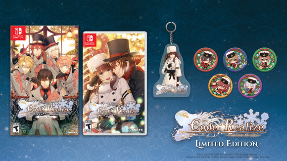 PRE-ORDER - Code: Realize ~Wintertide Miracles~ LIMITED EDITION (Nintendo Switch™)