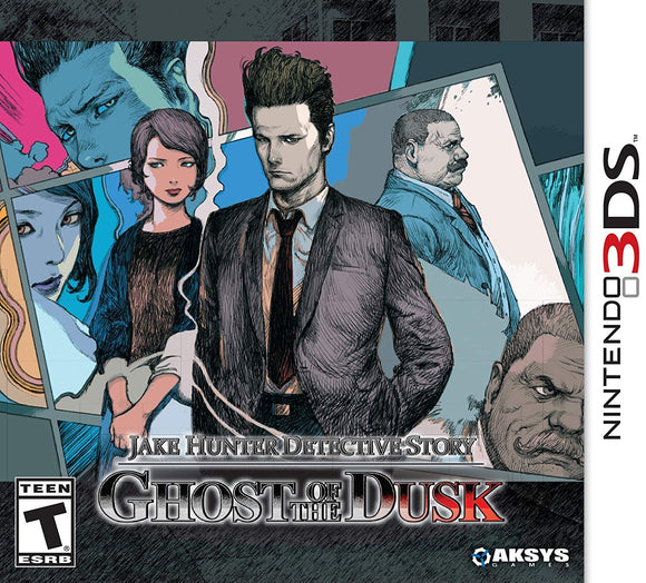 Jake Hunter Detective Story: Ghost of The Dusk - Nintendo 3DS