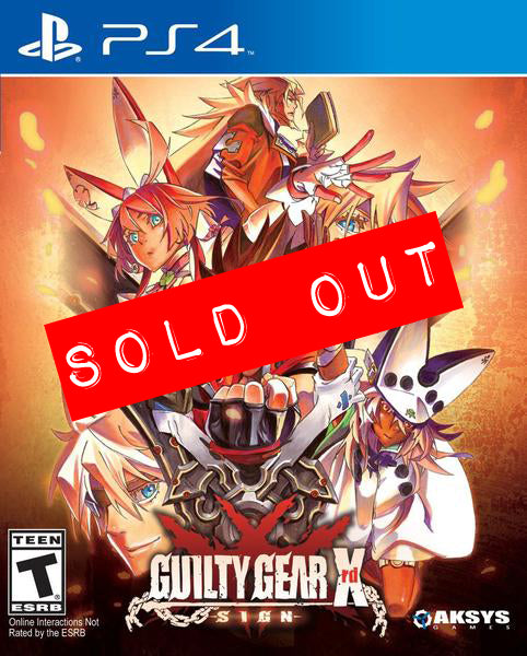Guilty Gear Xrd - SIGN - Playstation®4