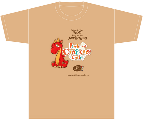 Little Dragons Café Exclusive T-shirt