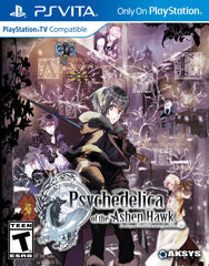 Psychedelica of the Ashen Hawk - PlayStation Vita with bonus card set!