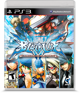 BlazBlue Continuum Shift - PS3