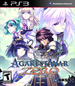 Record of Agarest War Zero for PlayStation 3