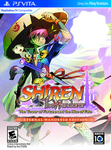Shiren The Wanderer: The Tower of Fortune and the Dice of Fate ETERNAL WANDERER EDITION