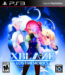 XBlaze Lost: Memories PS3