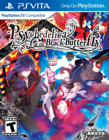 Psychedelica of The Black Butterfly - PlayStation Vita with bonus card set