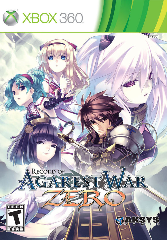 Record of Agarest War Zero  - Xbox 360