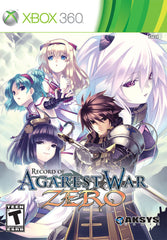 Record of Agarest War Zero for Xbox 360