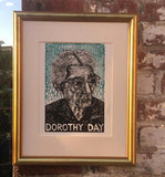 Dorothy Day Two-Tone Print