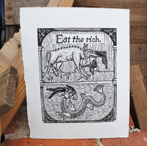 Eat The Rich Print