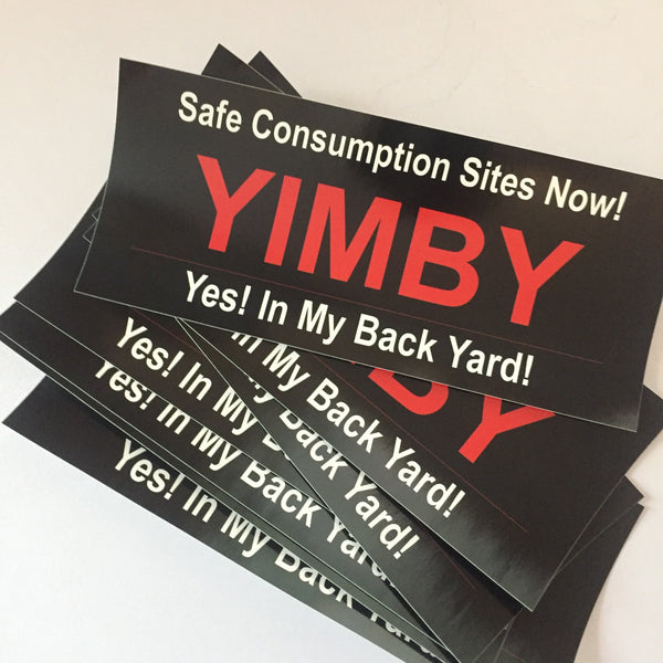 YIMBY stickers (set of 7)