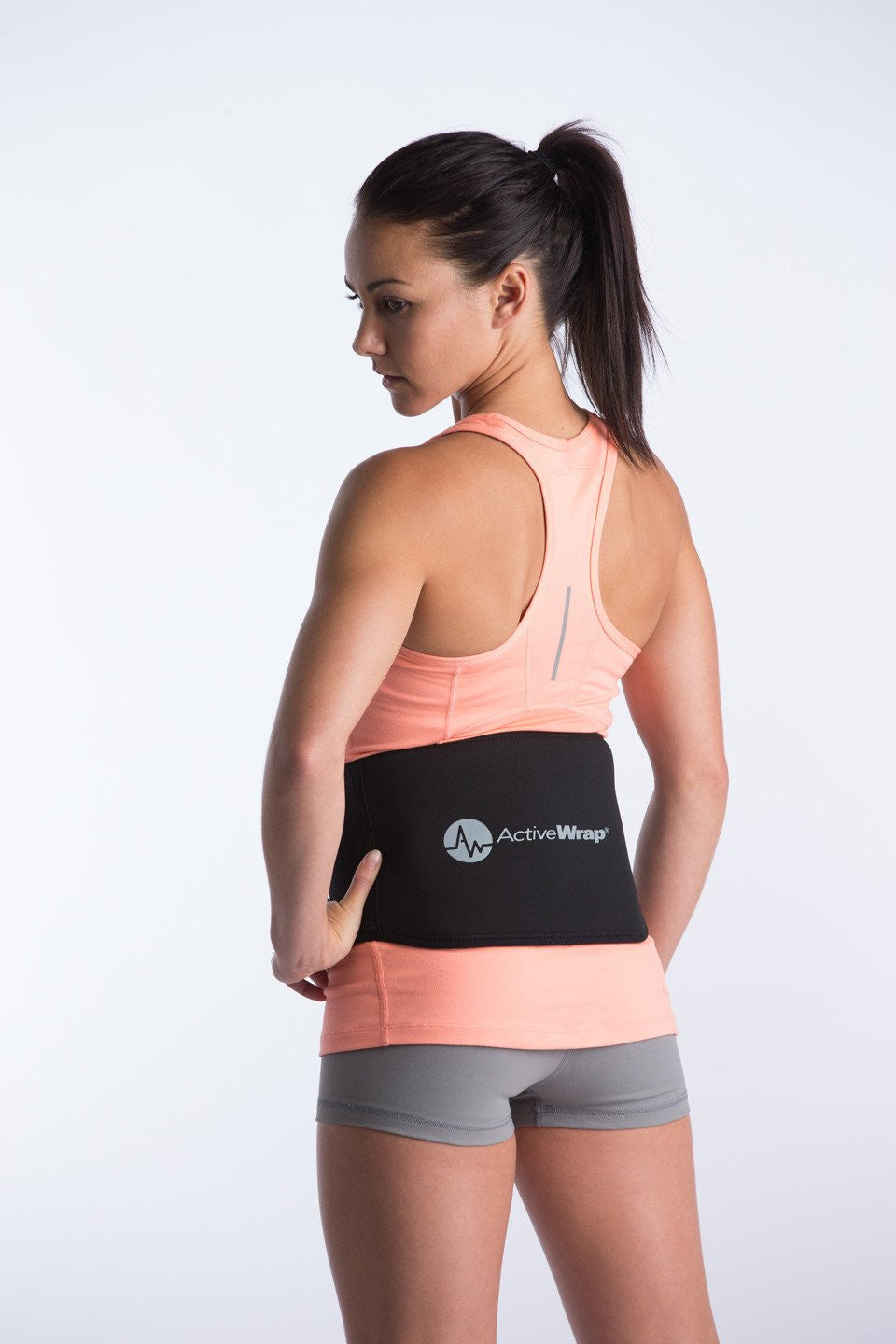 ActiveWrap Back Support- Back Ice Wrap,Back Pain Relief, Low Back Pain Relief
