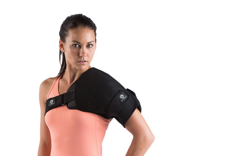 Shoulder Ice Wrap, Shoulder Ice Pack, Rotator Cuff Therapy, Shoulder Pain Relief, Shoulder Ice for Baseball Pitchers