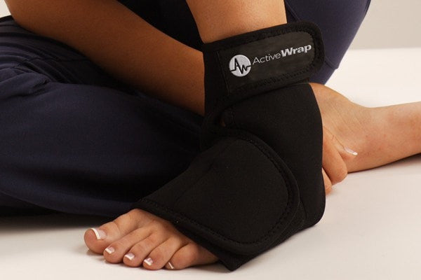 Ankle Ice Pack by ActiveWrap, Heel Spur Wrap, Plantar Fascitis