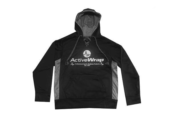 ActiveWrap Performance  Laced Hoodie- Black