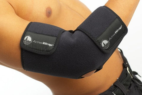 Elbow Ice Wrap, Elbow Heat Wrap, Tennis Elbow Wrap, Golfer's Elbow Wrap.