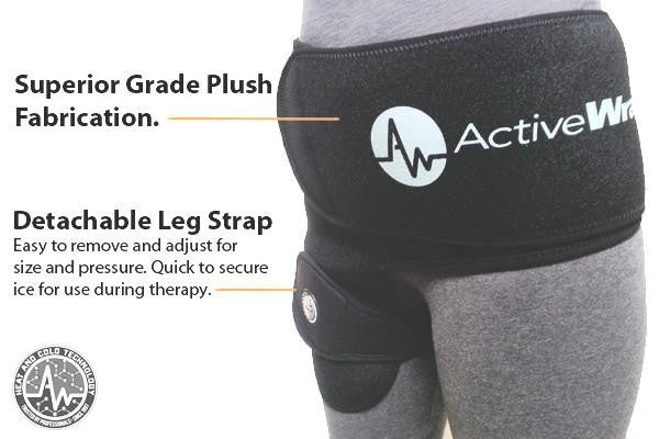 Hip Replacement Therapy, Hip Ice Wrap, Total Hip Replacement Wrap