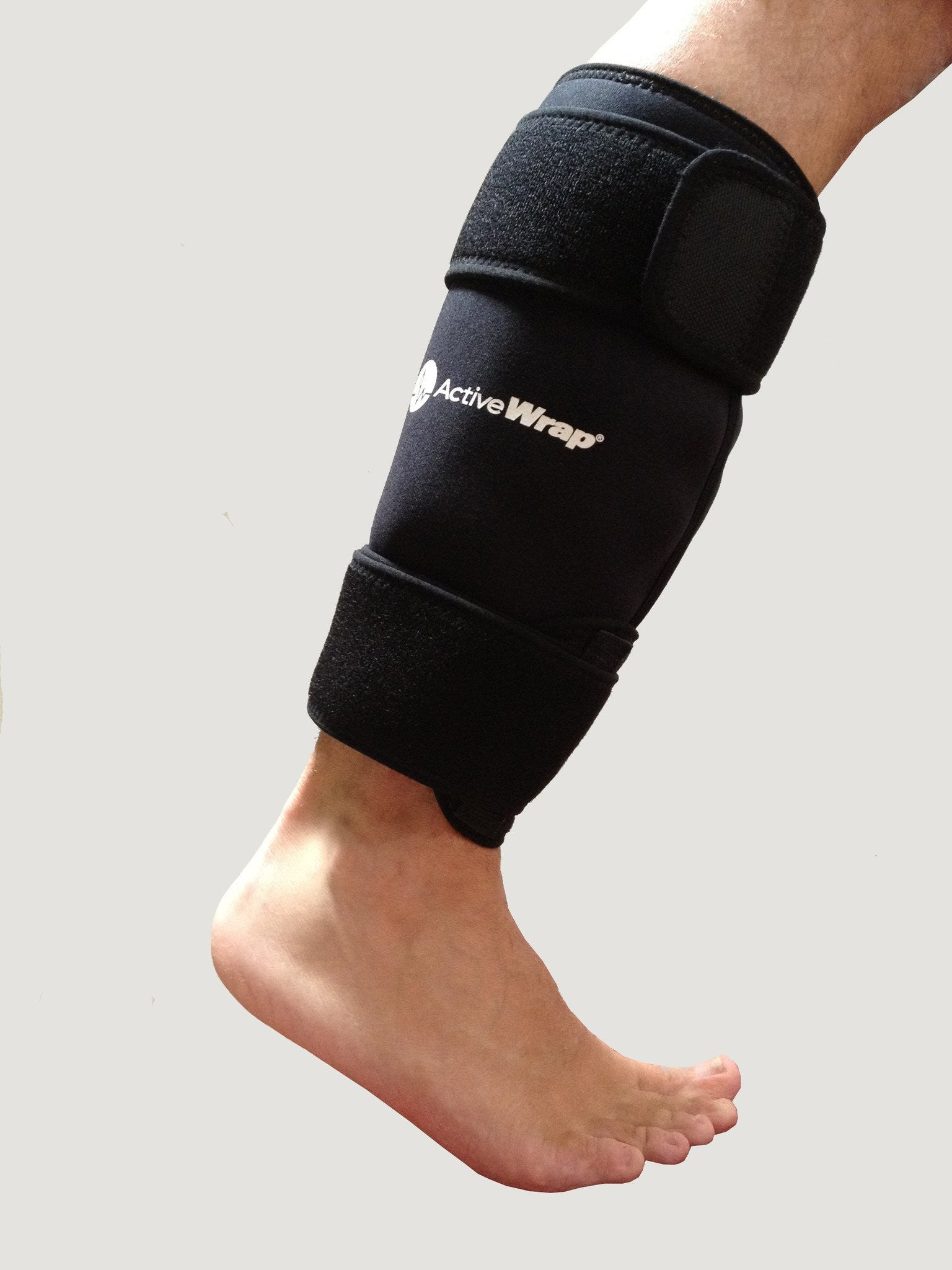 Ice wrap for shin, gastrocnemius or calf injuries