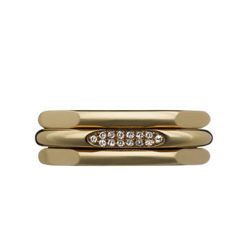 Links of London 20-20 Classic 18K Gold and Diamond Ring - 5045.2571
