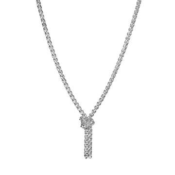 Links of London Sterling Silver Infinity Knot Necklace - 5020.1462