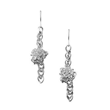 Links of London Sterling Silver Infinity Knot Earrings - 5040.1557
