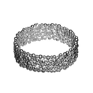 Links of London Sterling Silver Effervescence Bangle - 5012.0344