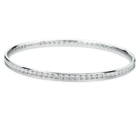 Hearts On Fire Eternity Channel Bangle