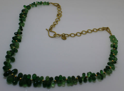 Passion Collection Green Garden Necklace