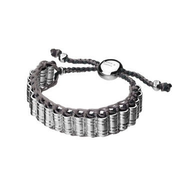 Links of London Venture Silver Woven Bracelet - 5210.0011