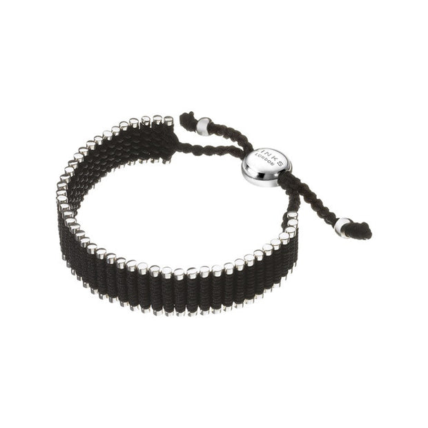 Links of London Black Friendship Wide Bracelet - 5010.0574