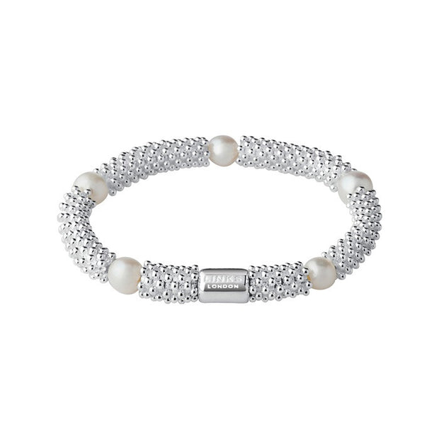 Links of London Effervescence Star White Pearl Bracelet - 5010.1393