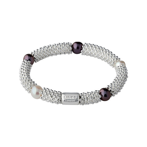 Links of London Effervescence Star Pearl Bracelet - 5010.1396