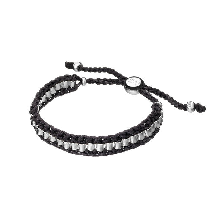 Links of London Grey Woven Allsorts Bracelet - 5010.1440