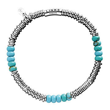 Links of London Sweetie Turquoise XS Bracelet - 5010.1705