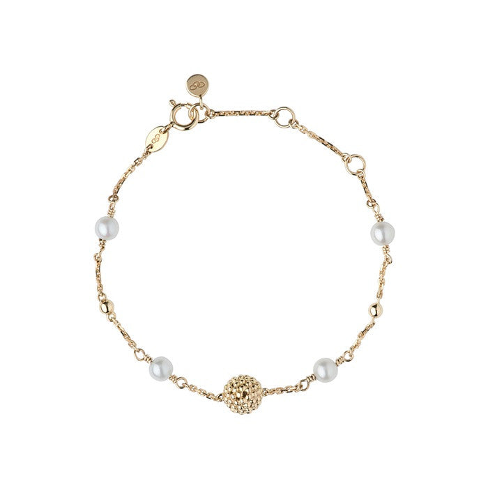 Links of London Effervescence White Pearl Bracelet - 5010.1930