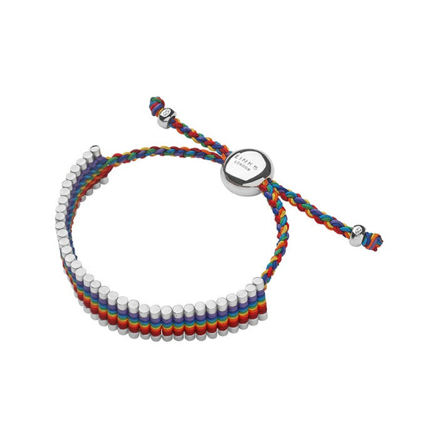 Links of London Friendship Bracelet Rainbow - 5010.2096