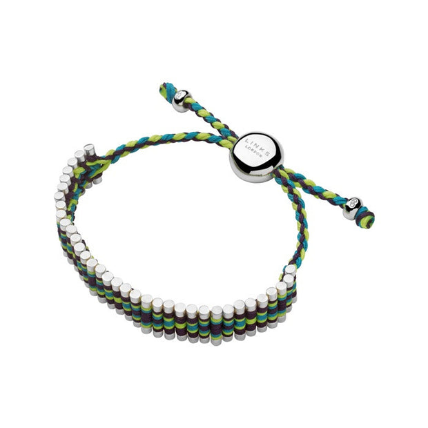 Links of London Navajo Friendship Purple, Yellow And Turquoise Bracelet - 5010.2112