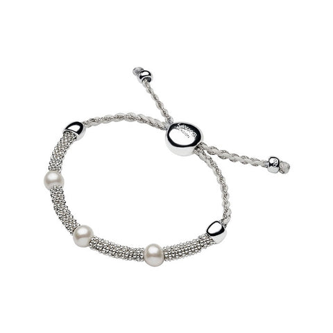 Links of London Effervescence Star XS Cord Pearl Bracelet - 5010.2311