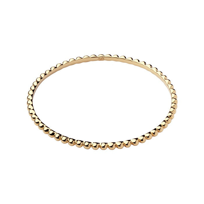 Links of London Effervescence Essentials Yellow Gold Bangle - 5010.2564