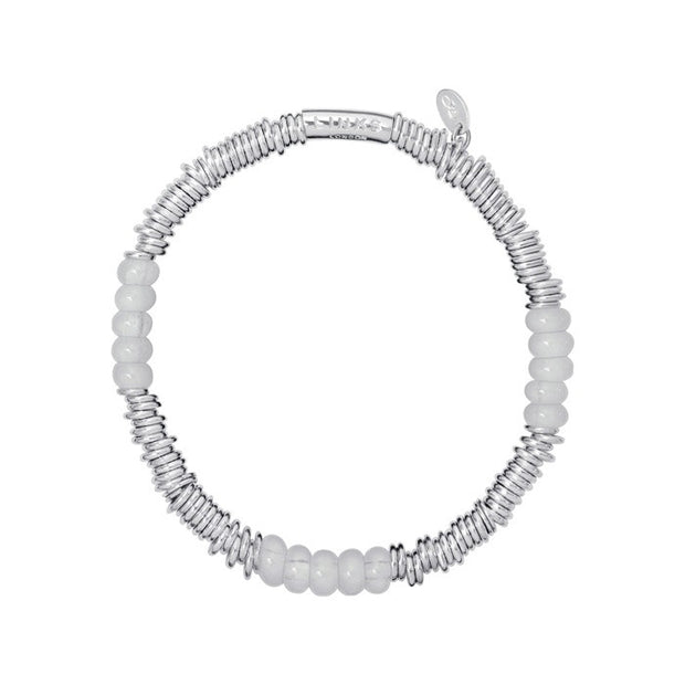 Links of London Sweetie XS Milky Quartz Bracelet - 5010.2606