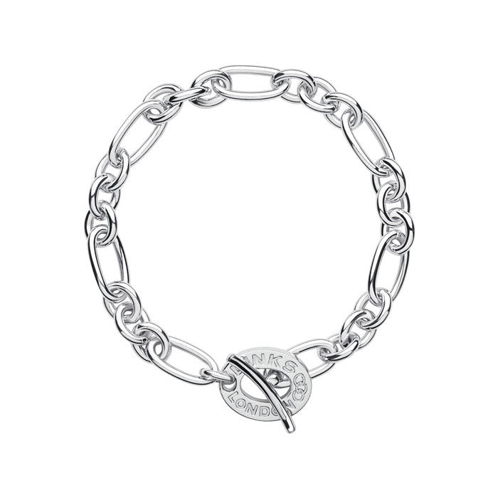 Links of London Signature Charm Chain Bracelet - 5010.2644