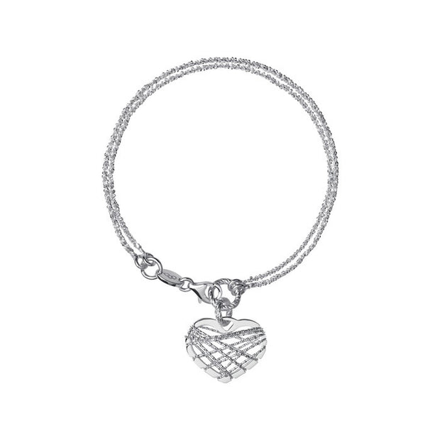Links of London Dream Catcher Heart Bracelet - 5010.2722