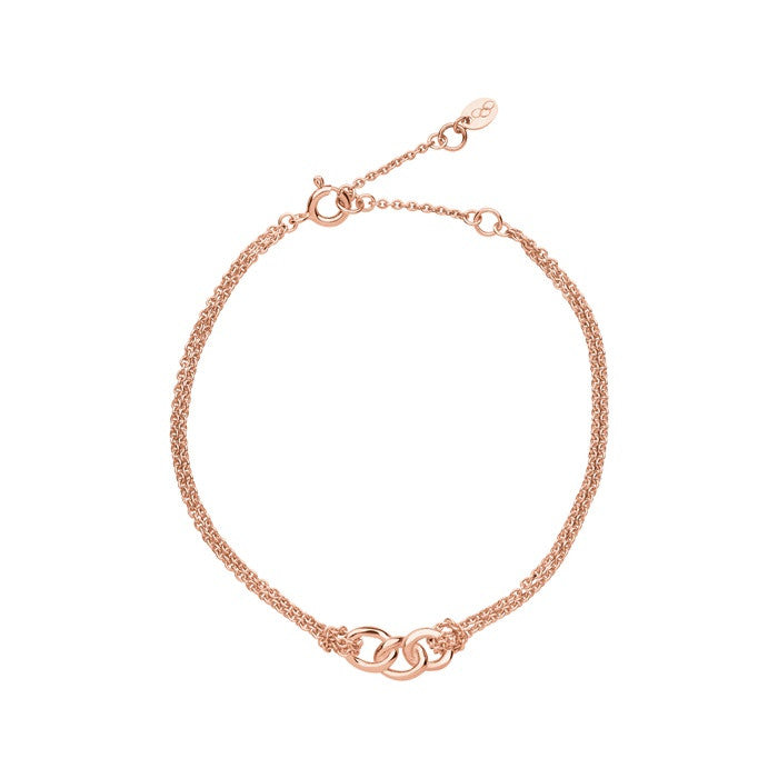 Links of London Signature Double Chain Bracelet - 5010.2841
