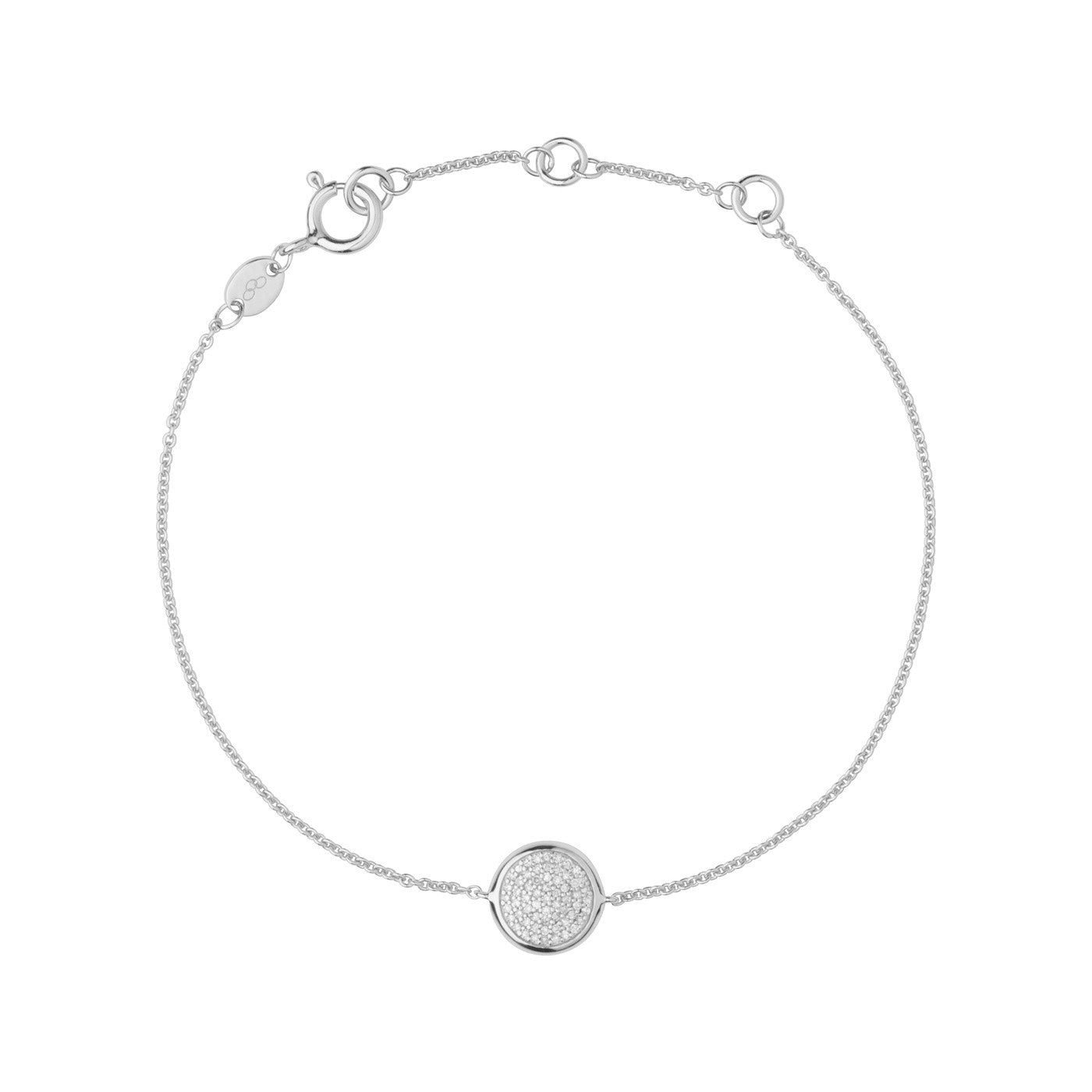 Links of London Diamond Essentials Pave Round Bracelet - 5010.2843