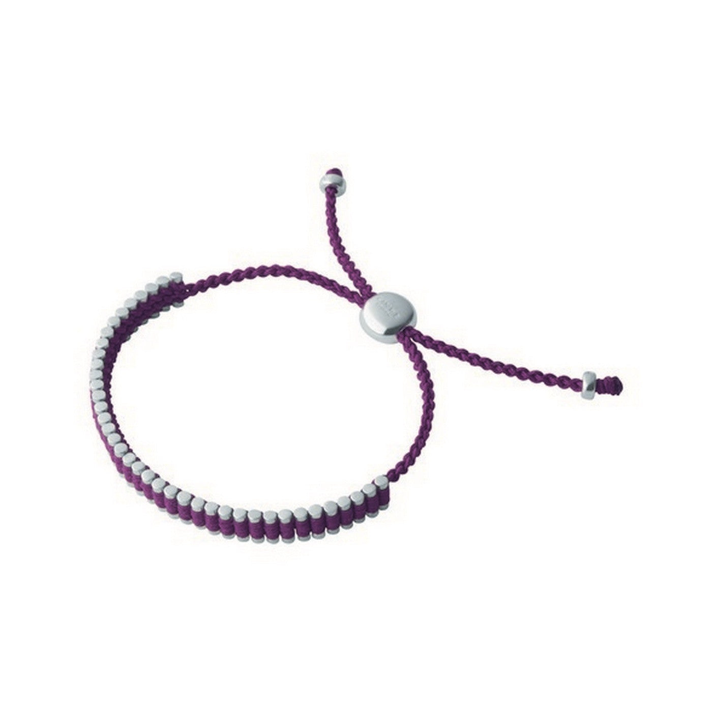 Links of London Purple Mini Friendship Bracelet - 5010.2869